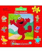 SZEZÁM UTCA - ELMO ÉVSZAKAI - ELSŐ PUZZLEKÖNYVEM