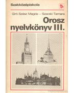 Orosz nyelvkönyv III.