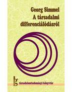 A társadalmi differenciálódásról
