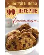 Aprósütemények - F. Horváth Ilona 99 receptje