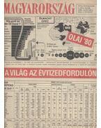 Magyarország 1980. XVII. évfolyam (hiányzik a 13. és 38. szám)