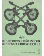 Elektromos gitár iskola 1 - Elektrische Gitarrenschule 1