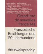 Grand livre de nouvelles francaises - Französische Erzahlungen des 20. Jahrhunderts