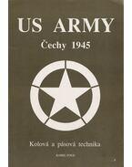 US Army Cechy 1945