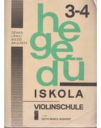 Hegedűiskola 3-4 / Violinschule 3-4