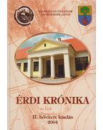 Érdi krónika (dedikált) - Dr. Kubassek János