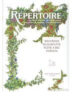 Répertoire zeneiskolásoknak - furulya 1a