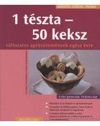 1 tészta - 50 keksz