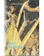 200 szonett (dedikált) - Faludy György