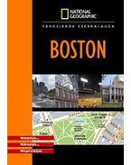 BOSTON - VÁROSJÁRÓK ZSEBKALAUZA - NATIONAL GEOGRAPHIC