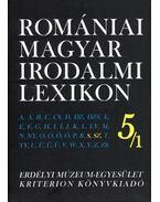 ROMÁNIAI MAGYAR IRODALMI LEXIKON 5/1. S,SZ