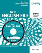 NEW ENGLISH FILE ADVANCED WB WITH KEY + MULTIROM