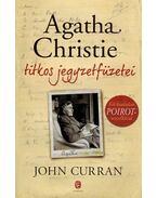 Agatha Christie titkos jegyzetfüzetei