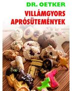 Dr.Oetker Villámgyors aprósütemények - Oetker dr.