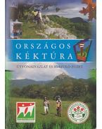 Országos Kéktúra útvonalvázlat és igazoló füzet
