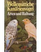 Wellensittliche und Kanarienvögel