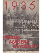 Párisi Magyar Évkönyv 1935