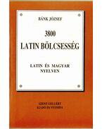 3800 latin bölcsesség latin és magyar nyelven
