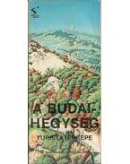 A Budai-hegység turistatérképe - --