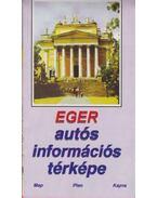 Eger autós információs térképe - --