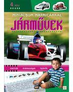 Minialbum matricákkal - Járművek 4. rész