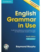 ENGLISH GRAMMAR IN USE WITH ANSWER + CD-ROM 4TH EDITION