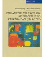 Parlamenti választások az Európai Unió országaiban (1945-2002)