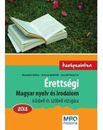 Érettségi - Magyar nyelv és irodalom 2013.Középszinten