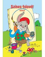 Színes húsvét színező