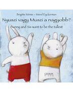 Nyuszi vagy Muszi a nagyobb? - Bunny and Sis want to be the tallest