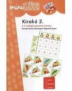 Kirakó 2. - Kombinációs készséget fejlesztő füzet 2. és 4. osztályosoknak