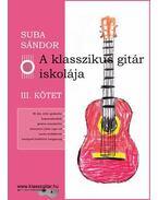 A klasszikus gitár iskolája - III. kötet