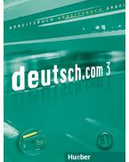 DEUTSCH.COM 3 ARBEITSBUCH