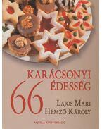 66 karácsonyi édesség