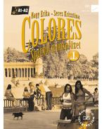 56496/M/NAT COLORES 1. - SPANYOL MUNKAFÜZET + CD