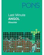 PONS LAST MINUTE ÚTISZÓTÁR - ANGOL