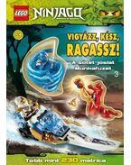 LEGO 3. - Vigyázz, kész, ragassz! - A sötét jóslat - Ninjago - matrica