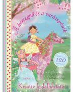 A hercegnő és a varázspónik - kreatív foglalkoztató - Több mint 120 matricával