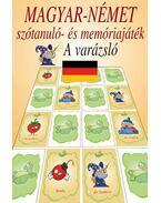 Magyar-német szótanuló- és memóriajáték - a varázsló