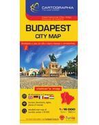 Budapest belváros térkép 1:16 000