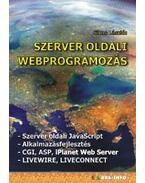 Szerver oldali webprogramozás