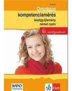 Országos kompetenciamérés tesztgyűjtemény német nyelv - 6. osztályosoknak