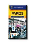 PÁRIZS - CARTOGRAPHIA ÚTIKÖNYVEK
