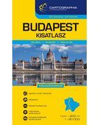 Budapest autóatlasz 1:20 000 (kicsi)