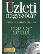 MAGYAR-NÉMET ÜZLETI NAGYSZÓTÁR + CD-ROM MELLÉKLET