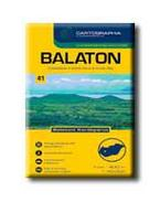 BALATON TURISTATÉRKÉP - 1:40.000 - CART. -
