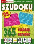 ZsebRejtvény SZUDOKU Könyv 25.