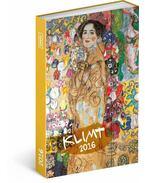 PG Agenda Gustav Klimt 2016, 10,5 x 15,8 cm