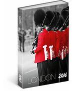 PG Agenda London 2016, 10,5 x 15,8 cm