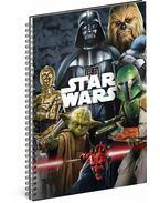 PG W.Disney Star Wars - spirálos notesz A4, 80 lapos, vonalas